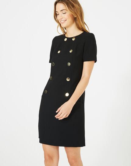 Amanda stylish black dress PhotoZ | 1-2-3