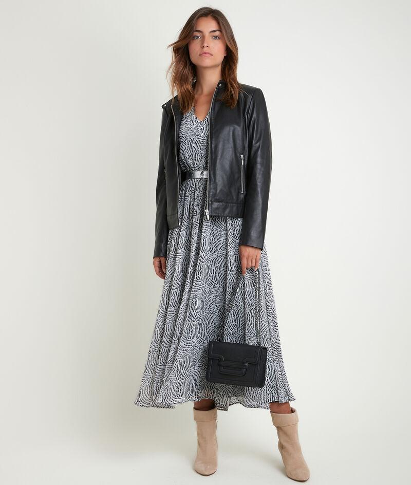 Robe longue imprimée Nancy PhotoZ | 1-2-3