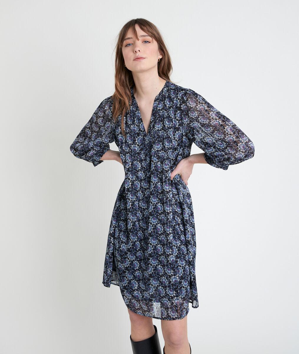 Robe courte imprimée Calypso PhotoZ | 1-2-3