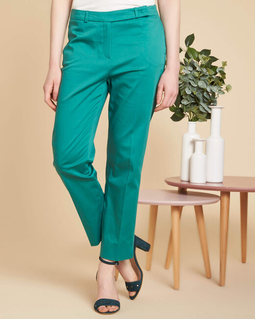 Rubis blue tapered trousers (2) - 1-2-3