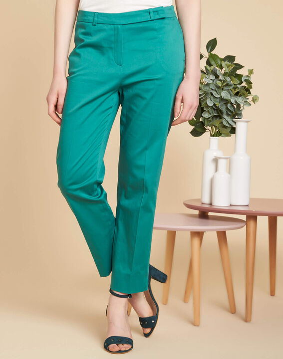 Rubis blue tapered trousers (3) - 1-2-3