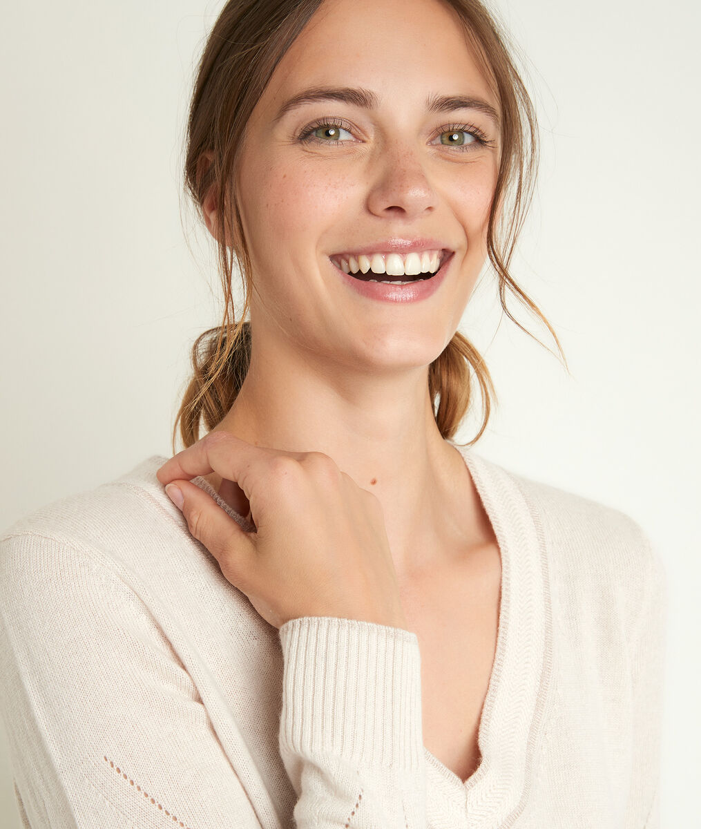 Pull en laine et cachemire rozane - 123 - Modalova