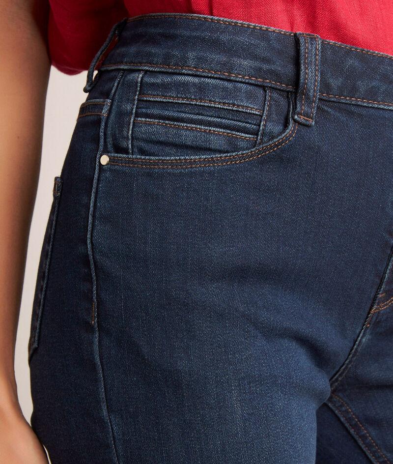L'iconique slim: jean à lacets brut Agathe PhotoZ   1-2-3