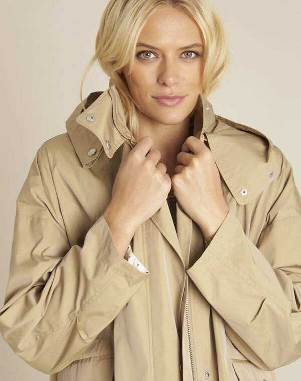 Emilie camel hooded parka (2) - 1-2-3