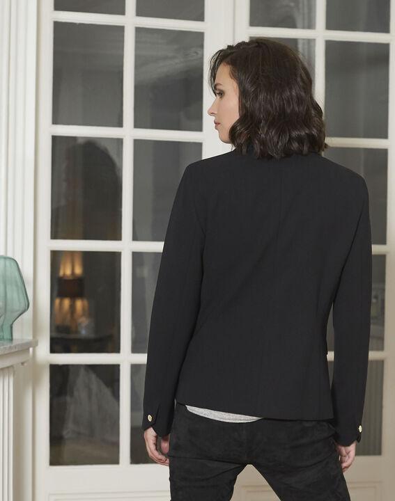 Veste noire blazer Eve (4) - 1-2-3