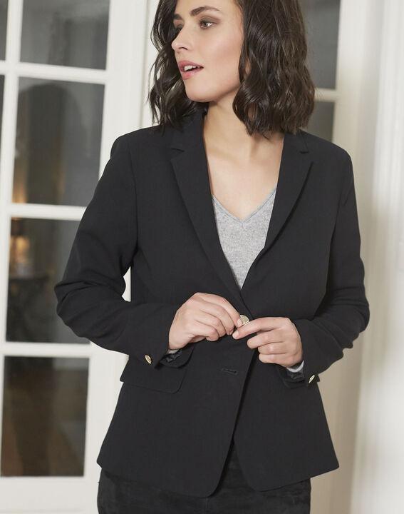 Veste noire blazer Eve (3) - 1-2-3