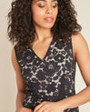 Istory black straight-cut lace dress (3) - 1-2-3