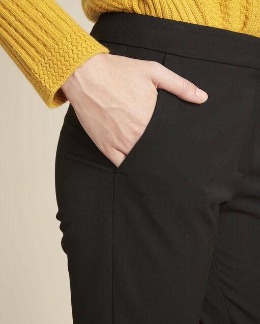 Pantalon noir cigarette Helsy (2) - 1-2-3