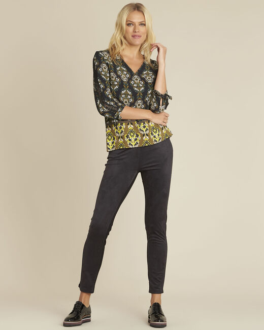 Pantalon noir slim Handy (1) - 1-2-3