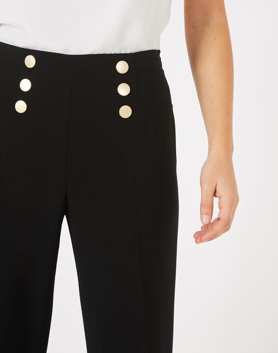 Pantalon à pont noir Valeur (3) - 1-2-3