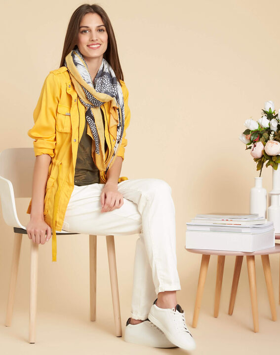 Casa bright yellow jacket with pockets (2) - 1-2-3