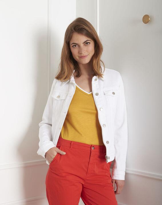 Veste en jean blanche Clem (2) - Maison 123