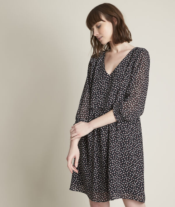 Robe courte imprimée Clarisse PhotoZ | 1-2-3