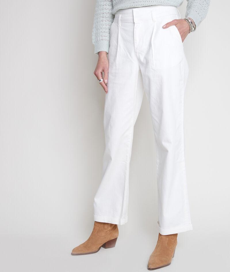 Jean large en coton écru Faden PhotoZ | 1-2-3