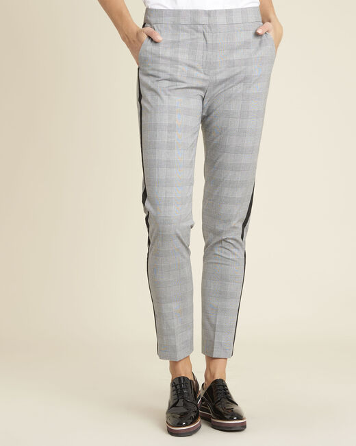 Graue Hose mit Glencheck-Muster Home (2) - 1-2-3