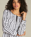 Dan striped blouse PhotoZ | 1-2-3
