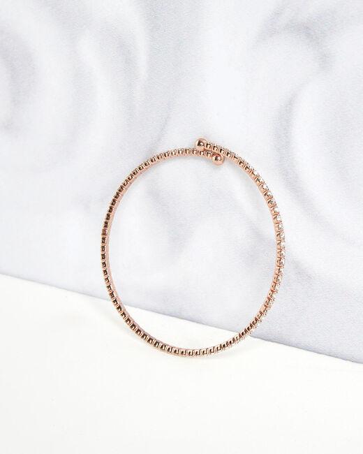 Bracelet brillant rose gold Olympe (1) - 1-2-3