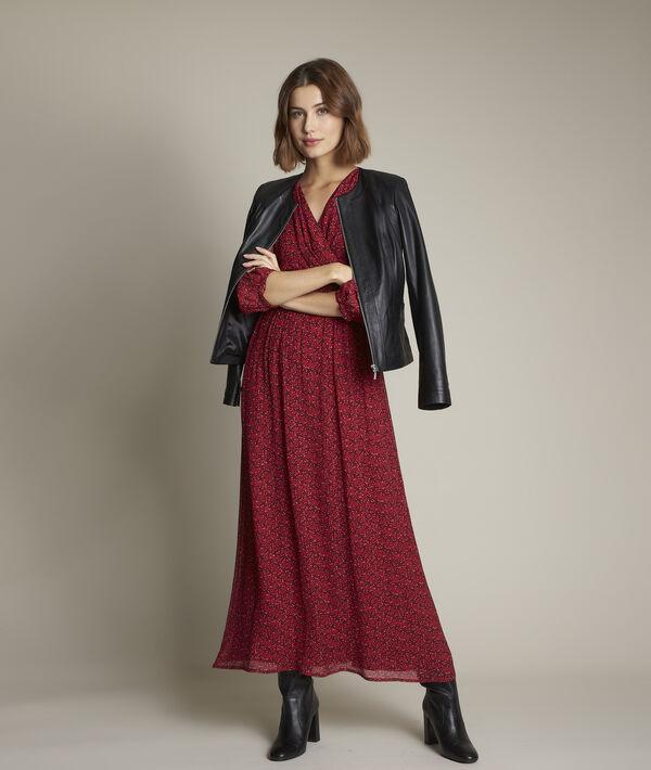 Robe longue imprimée Claudine PhotoZ | 1-2-3