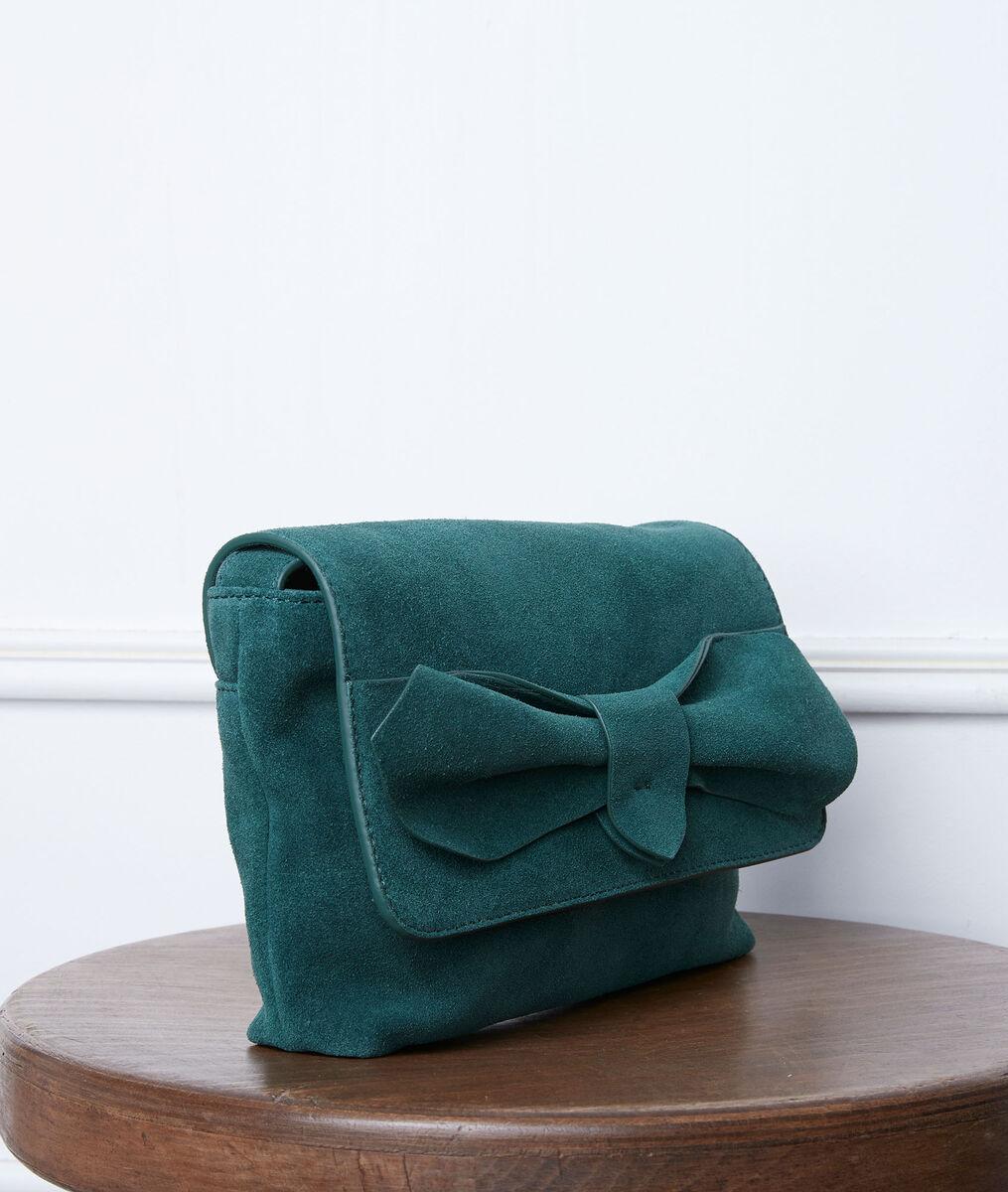 Sac en cuir vert Dolly PhotoZ   1-2-3