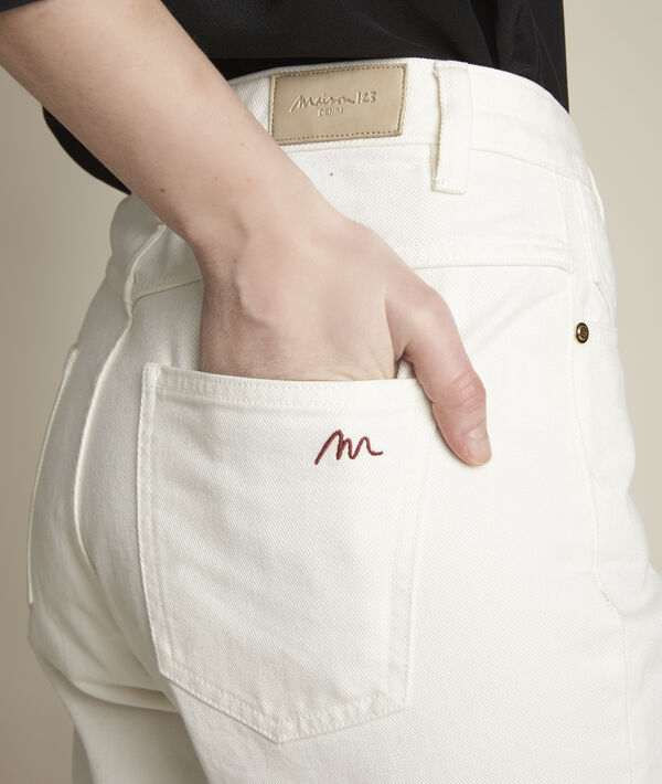 Le lovely mum: jean blanc Solene PhotoZ   1-2-3