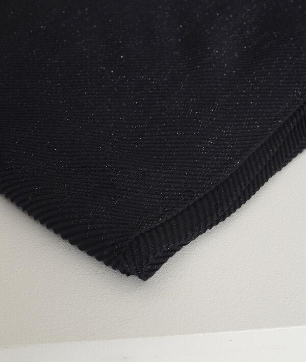 Foulard plissé lurex Greta PhotoZ | 1-2-3