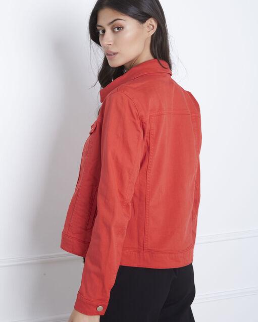 magasin d'usine 672ca bb6d4 Veste rouge en jean Clem Femme | Maison 123