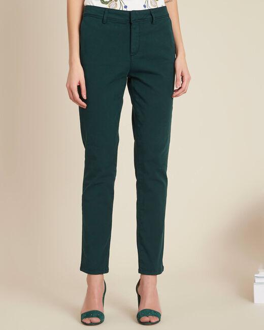 Pantalon vert foncé chino Jacob (2) - 1-2-3
