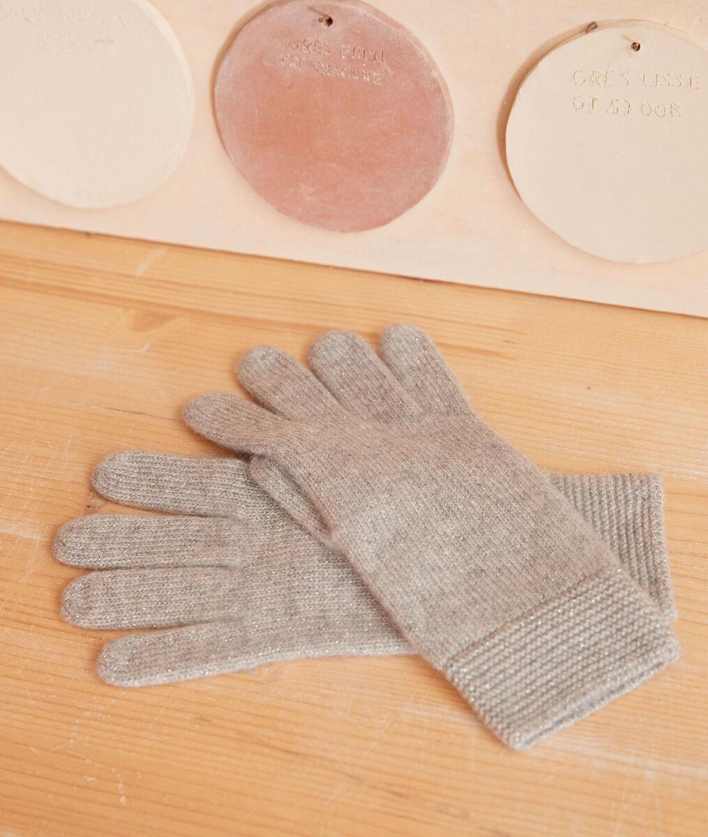 Gants en cachemire gris zack PhotoZ   1-2-3