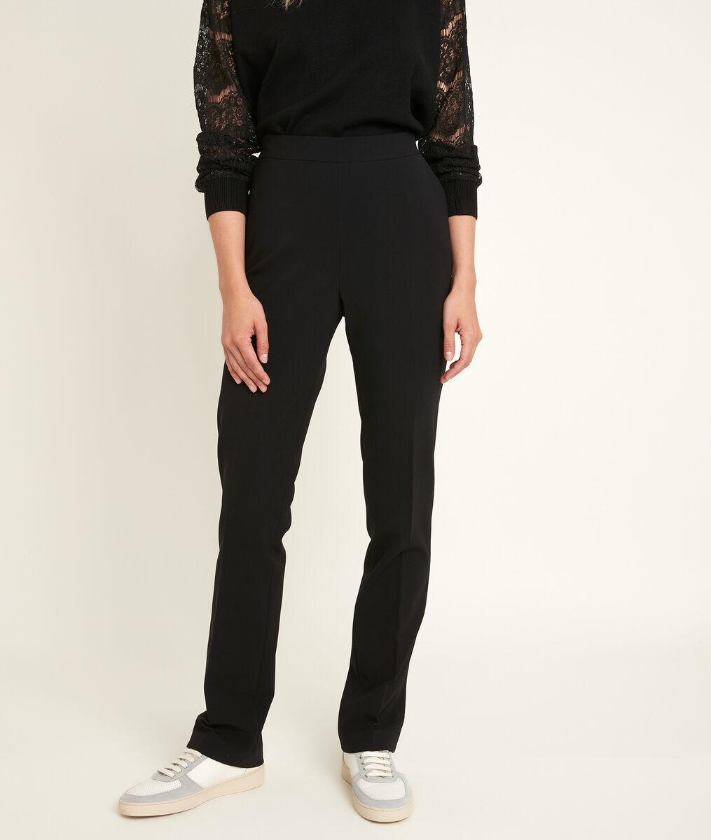 Pantalon droit en microfibre Melie PhotoZ | 1-2-3
