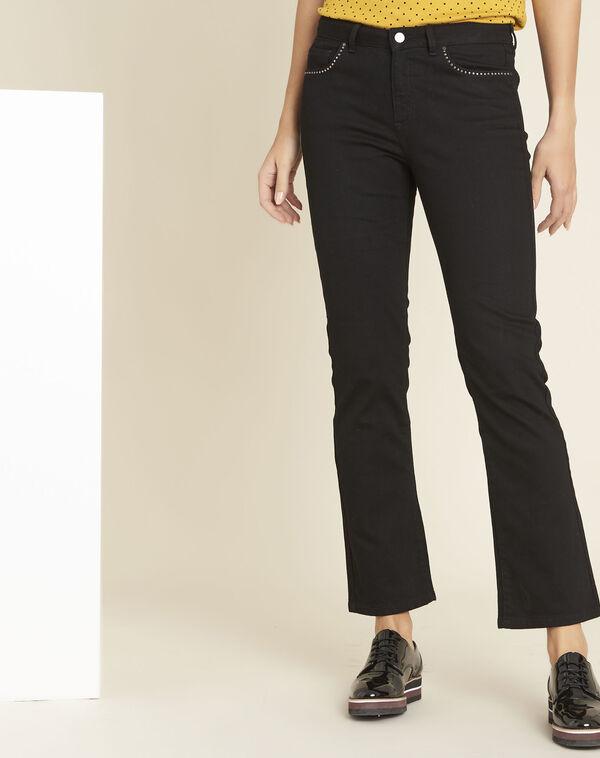 Damenjeans mit hohem Bund, Slim-Fit-Jeans, weiße Jeans, beschichtete ... d0101c080f