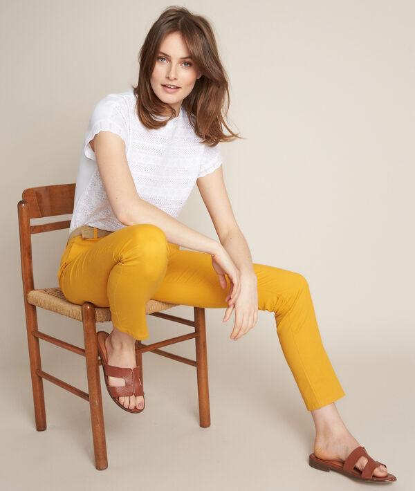 Pantalon chino safran Francis PhotoZ | 1-2-3