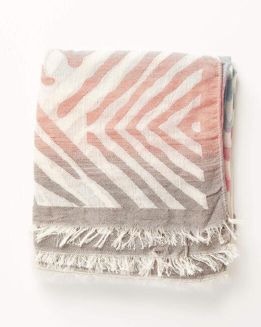 Foulard multicolore à rayures Alambra (1) - 1-2-3
