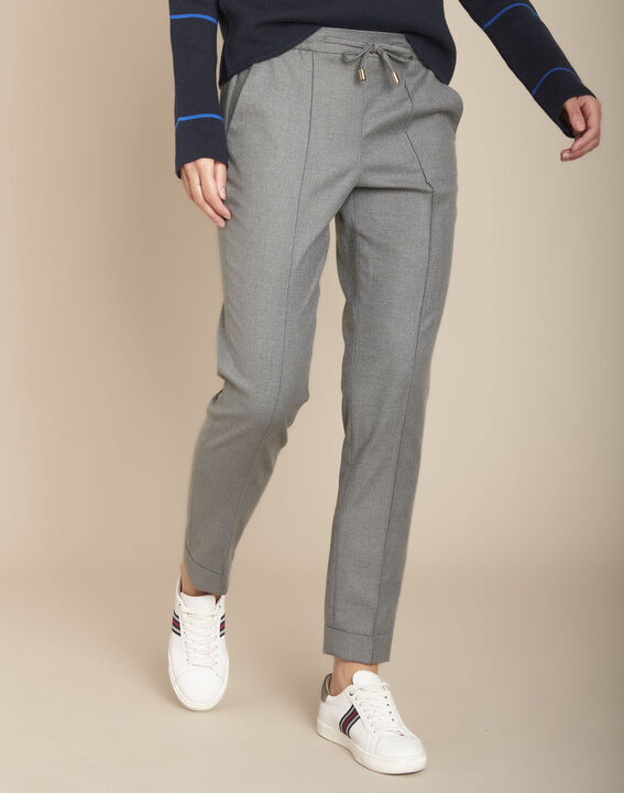 Pantalon jogging gris chiné Envol PhotoZ | 1-2-3