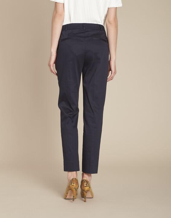 Rubis navy cigarette trousers (4) - Maison 123