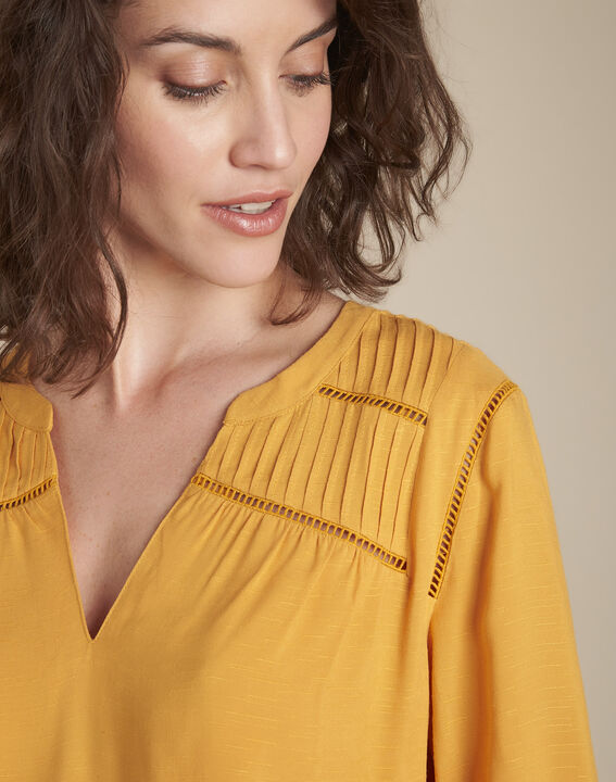 Blouse en dentelle ambre Maureen PhotoZ | 1-2-3