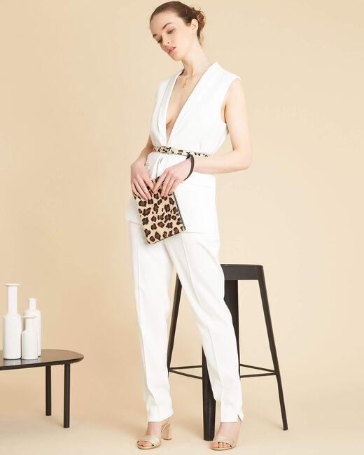 Veste blanche sans manches Cool (1) - 1-2-3