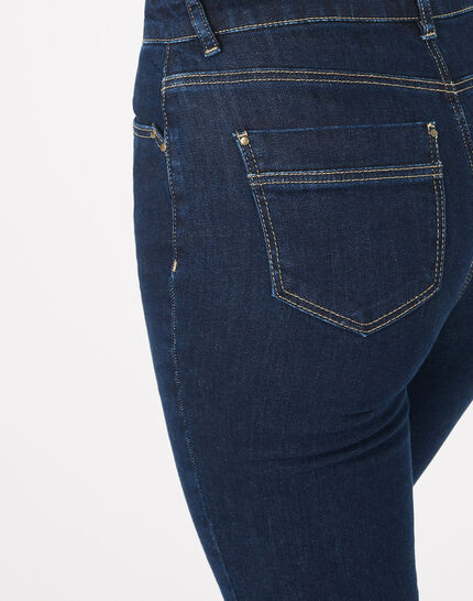 Oliver raw-cut 7/8 length jeans with studs (5) - 1-2-3