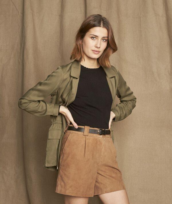 Shorts aus Veloursleder Imani PhotoZ | 1-2-3