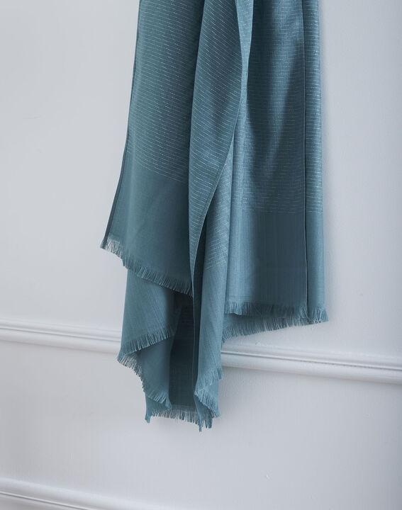 Foulard vert irisé Osiris (2) - Maison 123