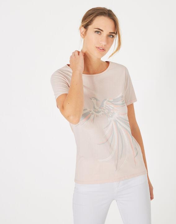 Tee-shirt poudre imprimé phoenix Butterfly (2) - 1-2-3