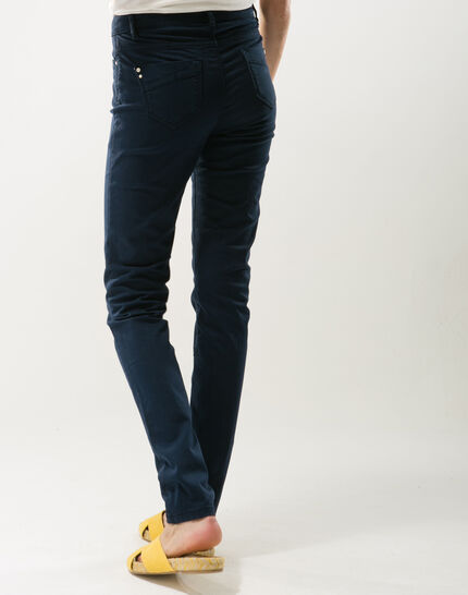 Pantalon bleu slim William (6) - 1-2-3