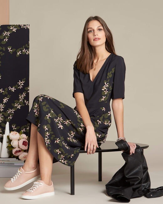 Piment long floral printed dress (1) - 1-2-3
