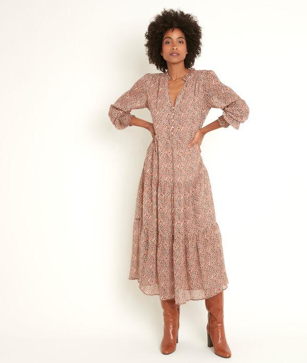 Robe longue imprimée Nada PhotoZ | 1-2-3