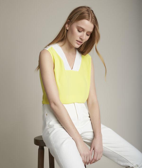 Top bimatière jaune Elisa PhotoZ | 1-2-3