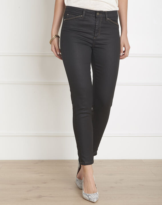 Zwarte aansluitende slim-fit jeans Opera PhotoZ | 1-2-3