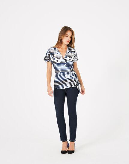 Dereck printed blouse PhotoZ | 1-2-3