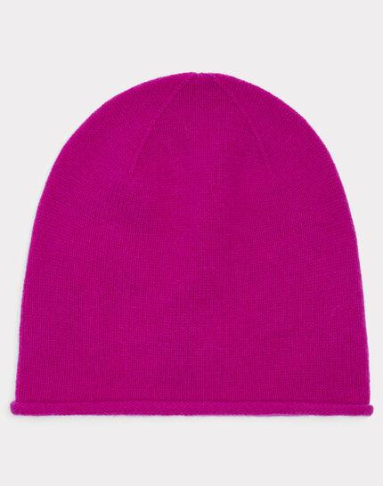 Bonnet fuchsia en cachemire Tilleul (1) - 1-2-3
