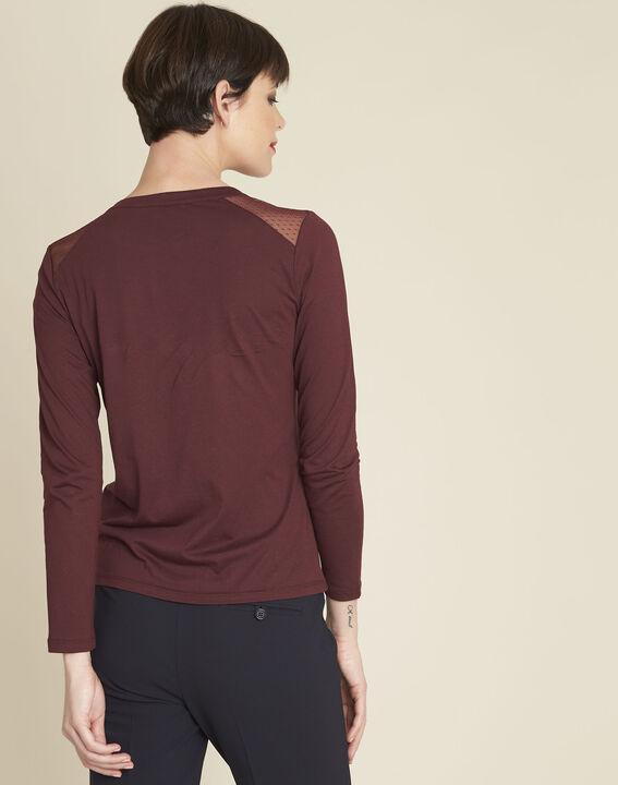 Tee-shirt bordeaux dentelle Guyane (4) - 1-2-3