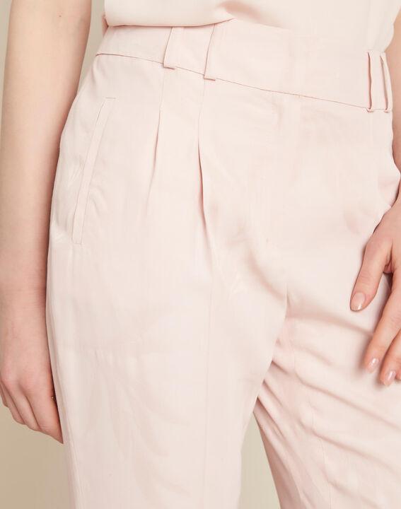 Pantalon poudre imprimé palme jacquard Vada PhotoZ | 1-2-3
