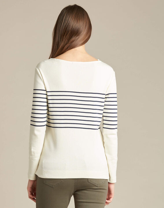 Escorteur striped T-shirt with long sleeves (4) - 1-2-3